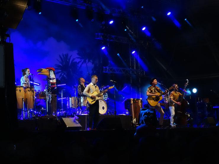 Tuure Kilpelainen rockt auf dem Iskelmä Festival