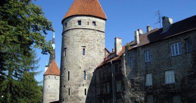 Mittelalterliche Türme in Tallinn