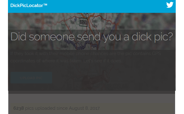 dickpic locator