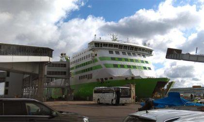 Fähre zwischen Tallinn und Helsinki