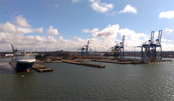 Frachthafen Klaipeda