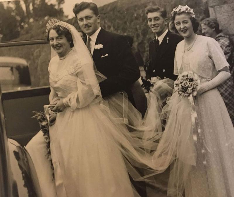 Hochzeit von William und Jean