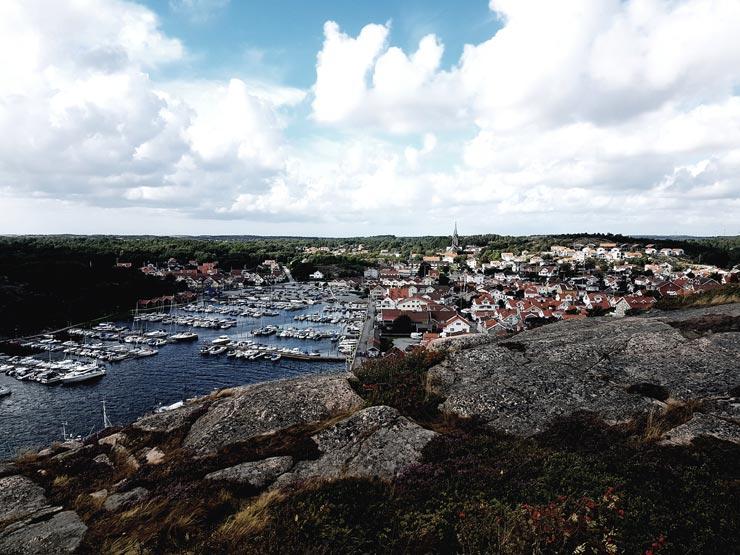 Grebbestad, Westküste Schweden