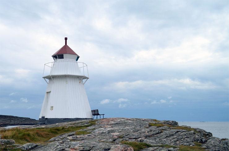 Krogstads fyr bei Bua - Reisebericht Schweden