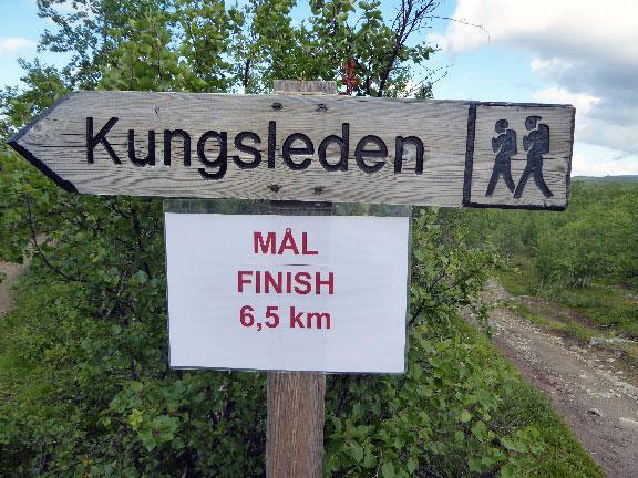 Kungsleden - der Königsweg