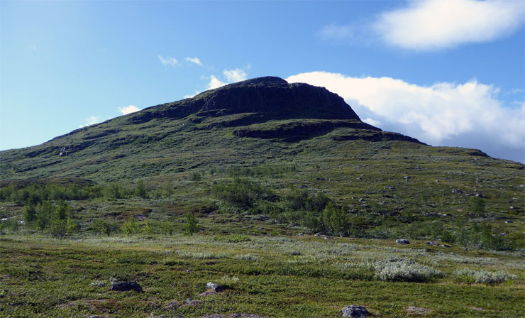 Im Nationalpark Abisko