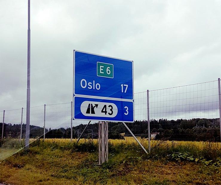 Reisebericht: Auf der E6 nach Oslo