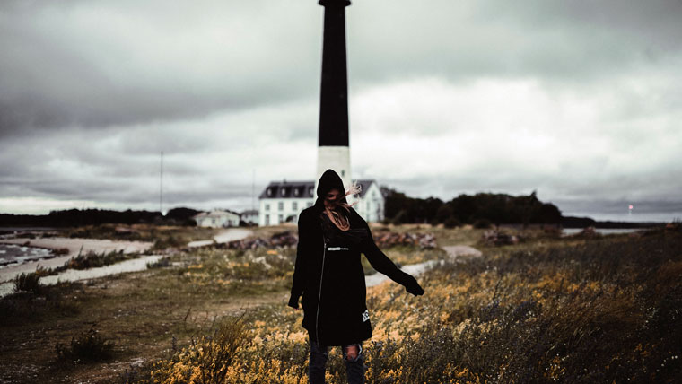 Leuchtturm in Sääre, Leuchtturm in Sääre, Halbinsel Sõrve
