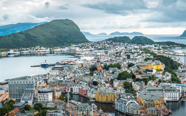 ÖV Statistik Norwegen