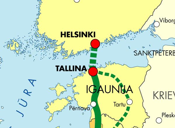 Tunnel Helsinki/Tallinn