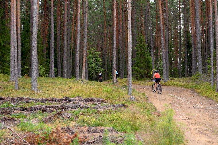 Kõrvemaa Naturschutzgebiet Triathlon