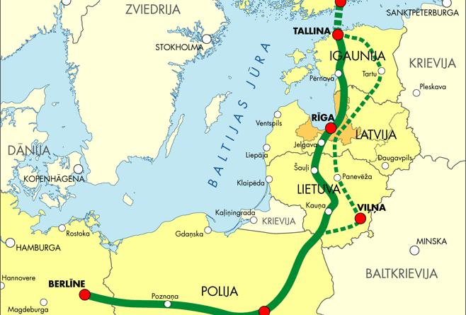 Tunnel von Helsinki nach Tallinn