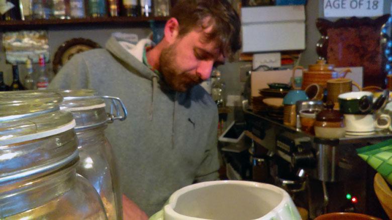 Restaurantbesitzer Dave Cleall-Hill