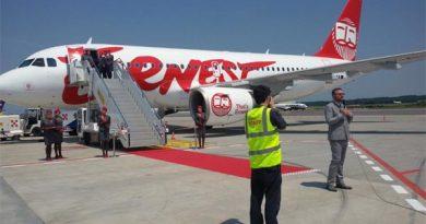 Billigfluggesellschaft Ernest Airlines