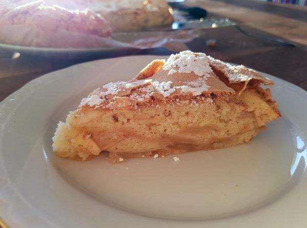 Scharlotka Apfelkuchen Rezept