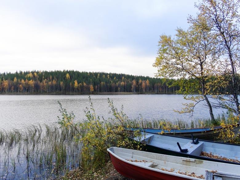 Boote am Wasser