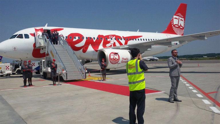 Billigflieger Ernest Airlines