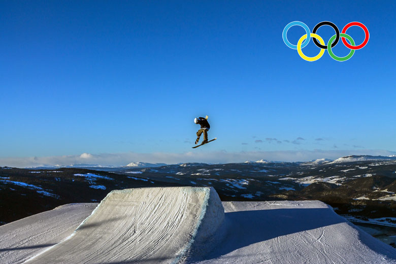 Freestyle-Skiing in Lillehammer