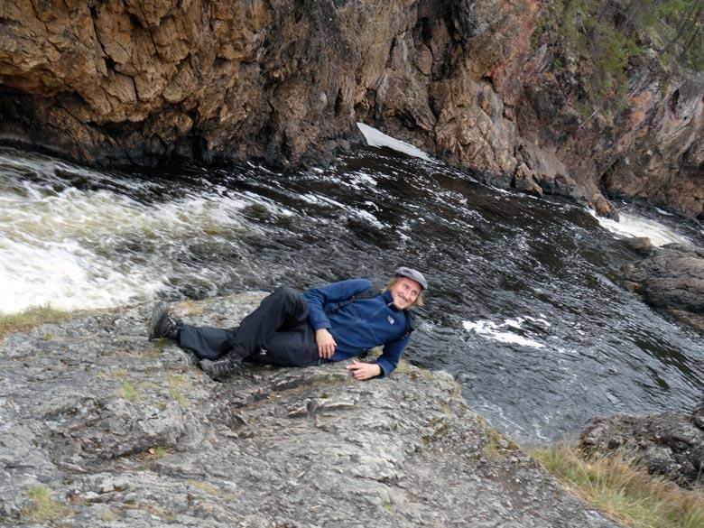 Entspannung im Oulanka Nationalpark