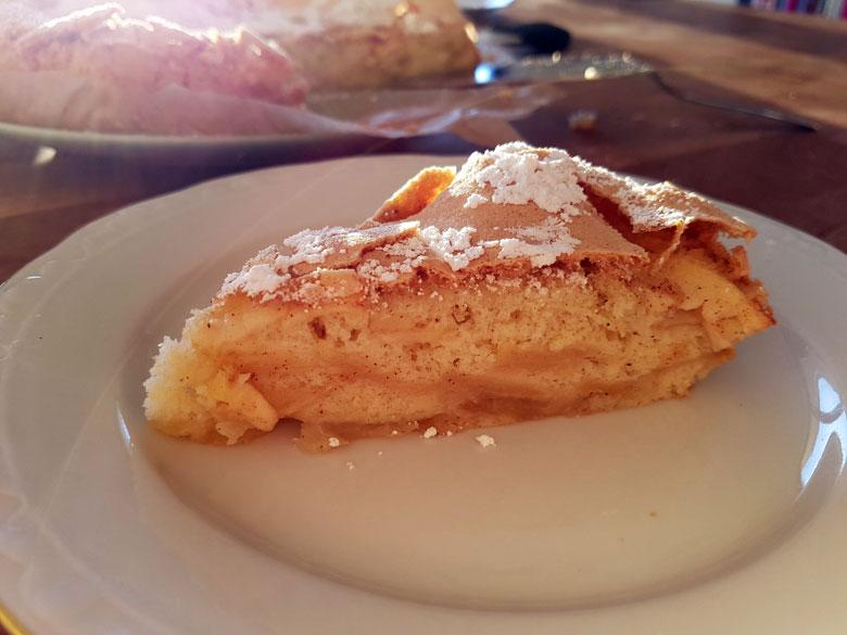 Scharlotka Apfelkuchen aus St. Petersburg