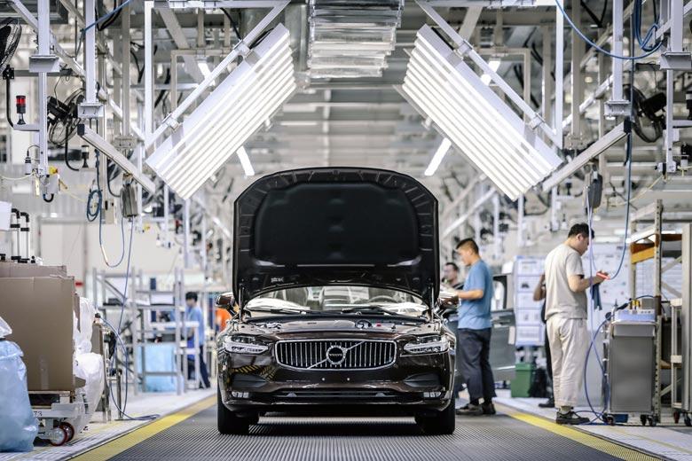 Volvo Fabrik in Daqing China