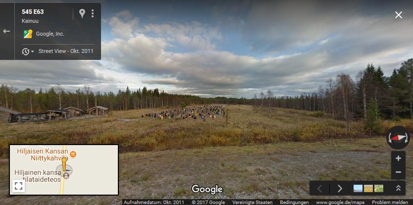 Untote mit Google Maps entdeckt?