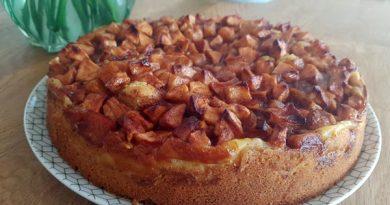 Dänischer Apfelkuchen mit Zimt Rezept