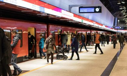 Metro in Helsinki verlängert