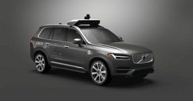 Selbstfahrendes Fahrzeug Volvo Uber
