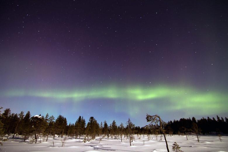 Nordlichter, die Aurora borealis