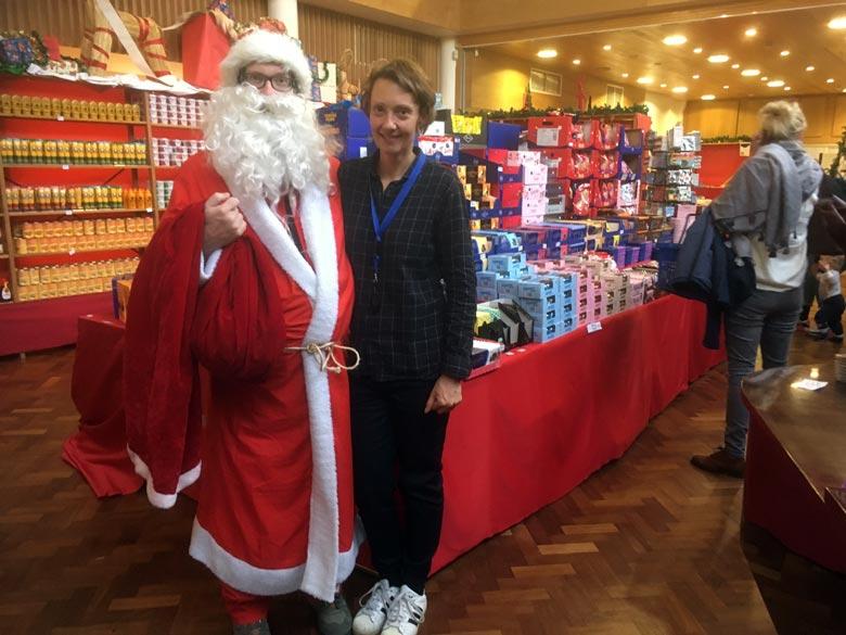 Marjaana Härkönen und der Weihnachtsmann