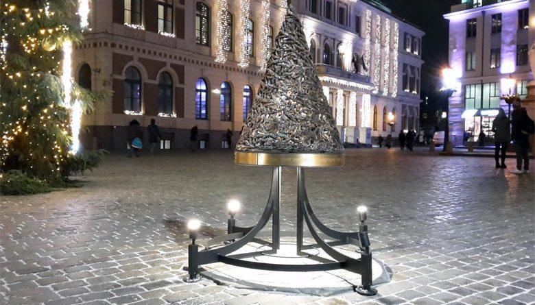 Denkmal Älterster Weihnachtsbaum der Welt