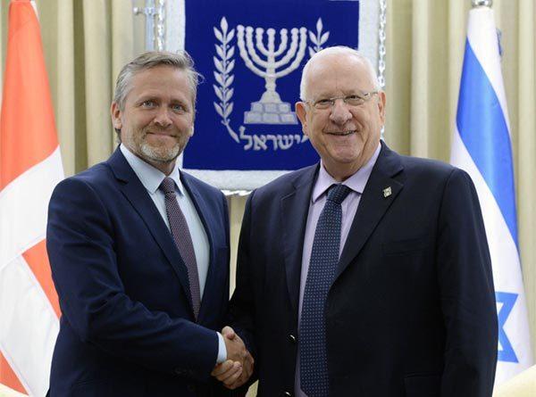 Dänische Botschaft Tel Aviv/Jerusalem
