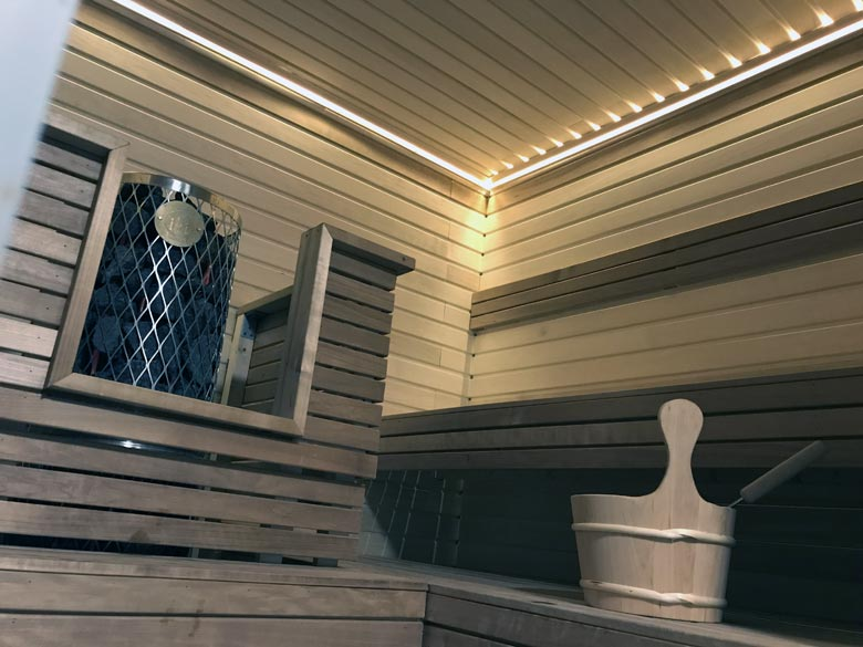 Finnische Sauna London