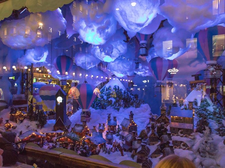 Schaufensterdeko Weihnachten (Foto Tarja Prüss)