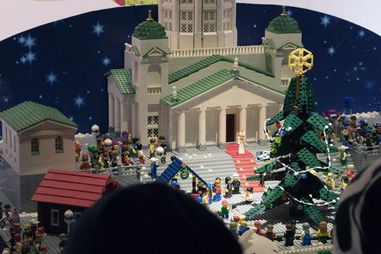 Lego-Schaufensterdeko