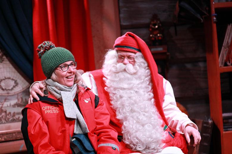 Weihnachtsmann in Finnland