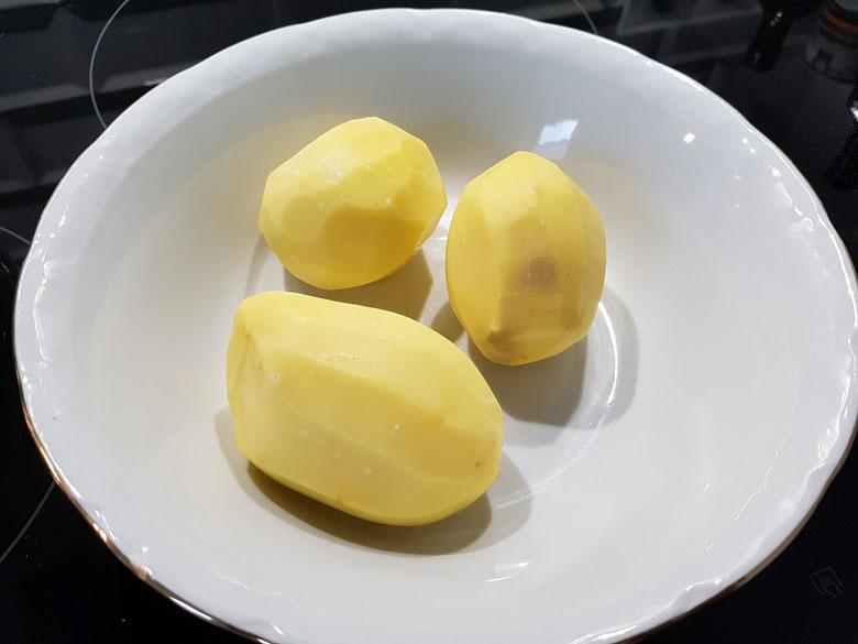 Drei Kartoffeln