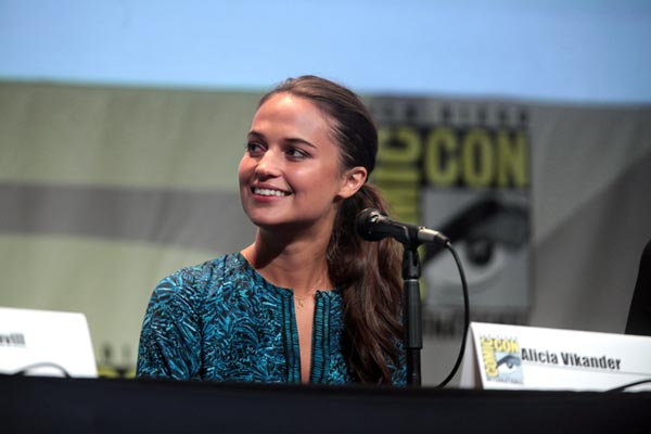 Alicia Vikander Interview