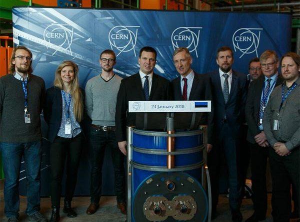 Estland besucht CERN
