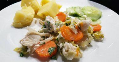 Fisch in Milch gegart Rezept Litauen