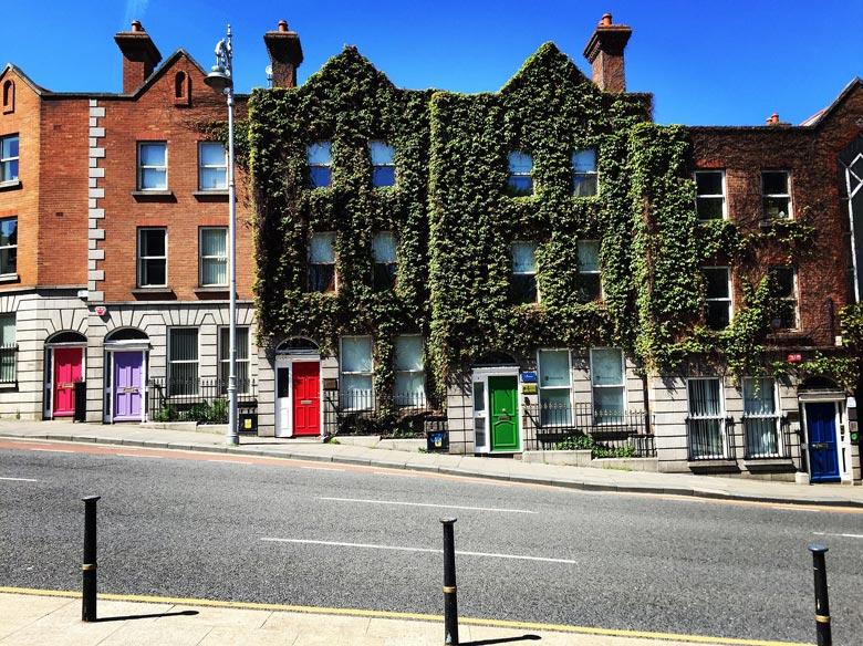 Straße in Dublin
