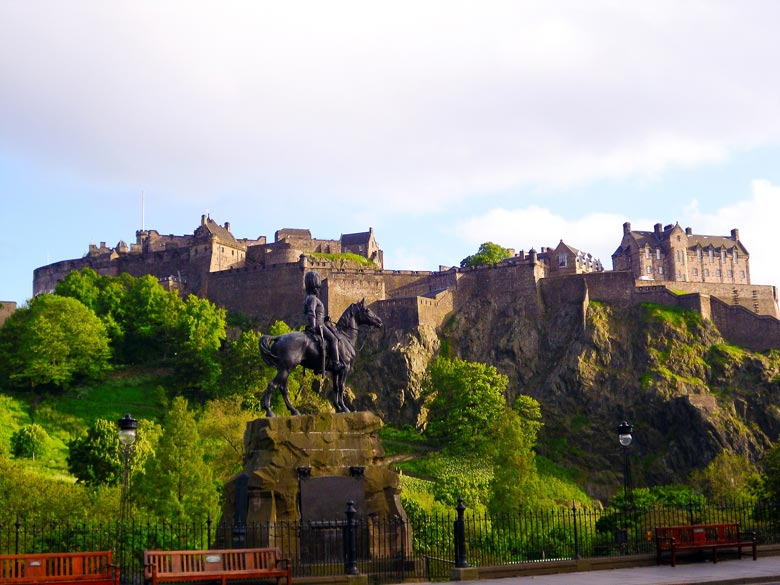 Edinburgh Castle Schottland