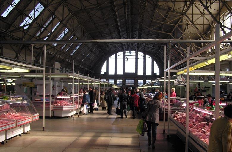 Was tun im Zentralmarkt Riga