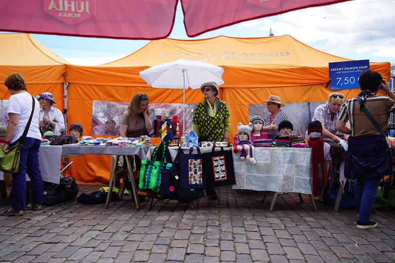 Markt in Helsinki