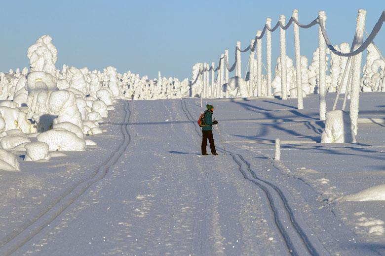 Winter in Finnland, Lappland