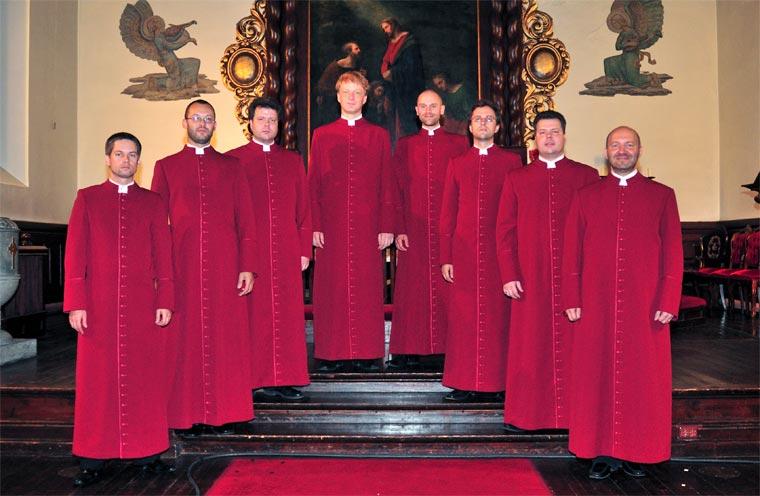 Gregorianischer Gesang von Schola Cantorum Riga