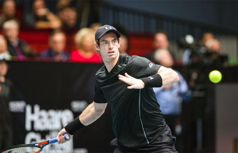 Andy Murray in Wien