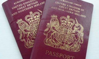 Britischer Reisepass