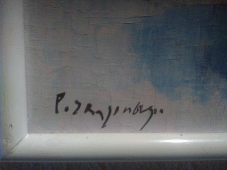 Signatur eines finnischen Malers